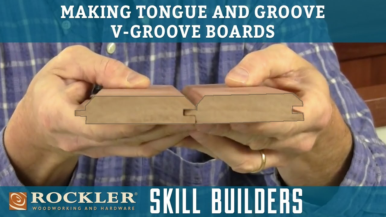 How to Make Tongue and Groove V-Groove Boards | Rockler Skill Builders