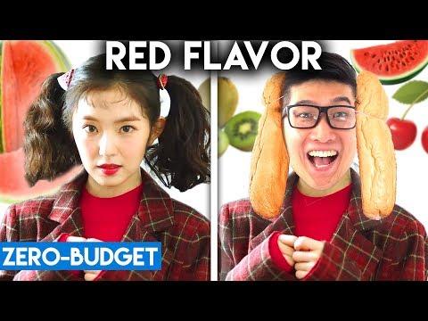 K-POP WITH ZERO BUDGET! (Red Velvet - Red Flavor)