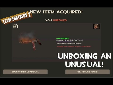 how to change what you unbox in tf2