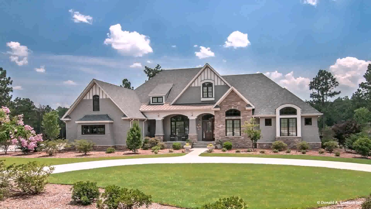 Craftsman Style House Plans S YouTube - Craftsman style ranch house plans