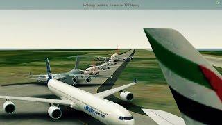 [HD] Infinite Flight Airbus A320. Multiplayer. ATC. KNUC - KSAN