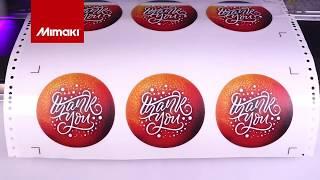 Mimaki UCJV300 Series- Printing Static Cling