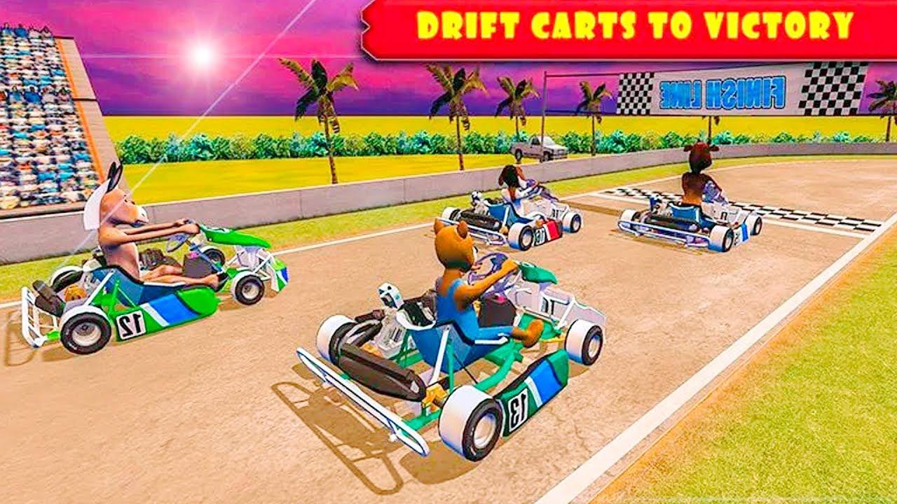 Car Racing Games Mad Animal Karting Ultimate Go Rush