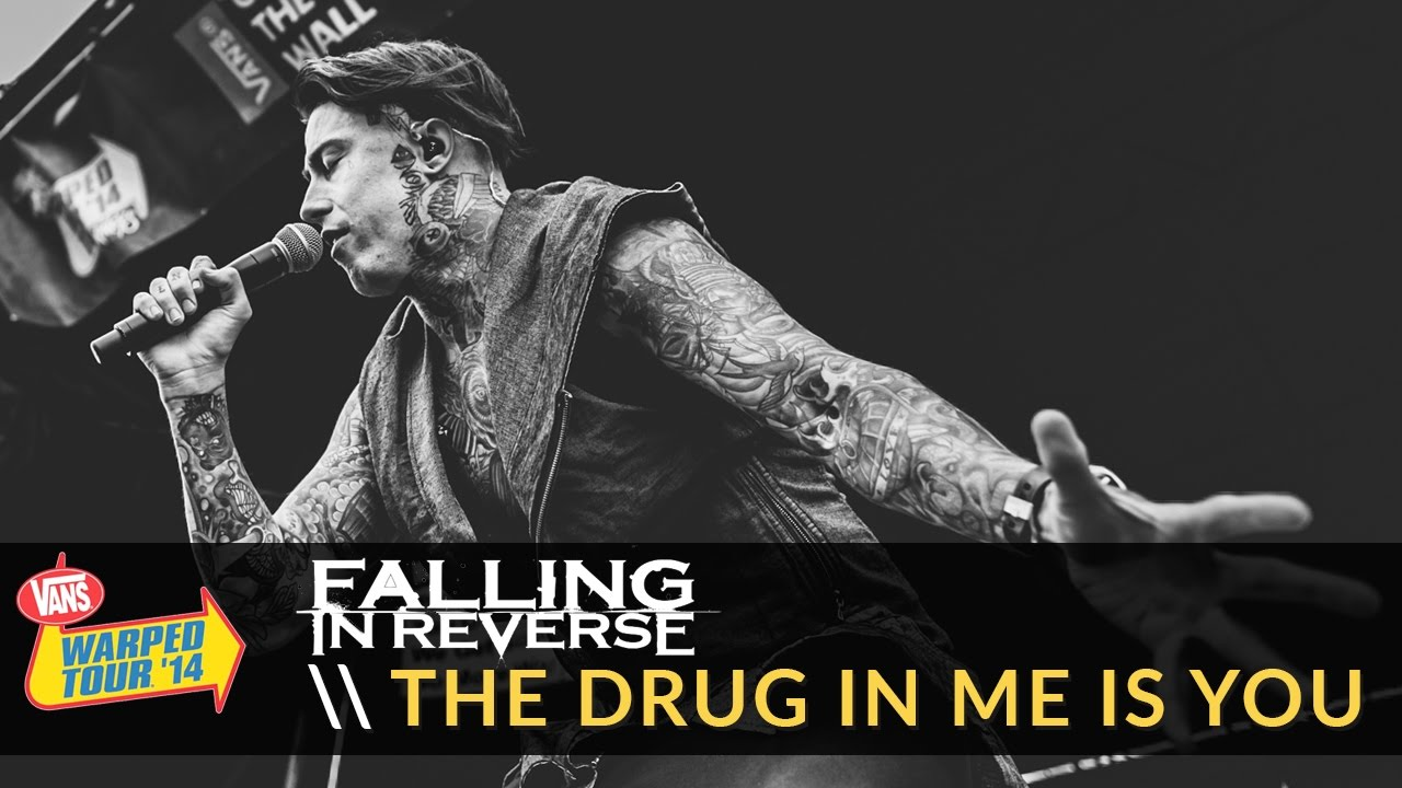 Falling in Reverse - The Drug In Me Is You (Live 2014 Vans Warped Tour)