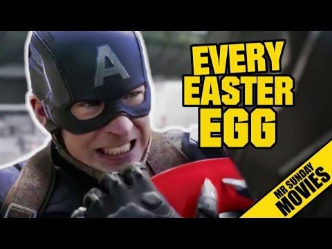 CAPTAIN AMERICA: CIVIL WAR Easter Eggs, Cameos & References