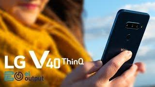 LG V40 ThinQ, análisis en español del teléfono con 5 cámaras