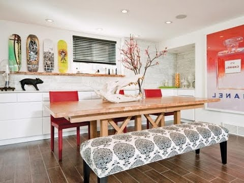 Latest trends in furniture Outdoors The Latest Trends In Decoration Of Modern Dining Rooms For 2019 Youtube The Latest Trends In Decoration Of Modern Dining Rooms For 2019