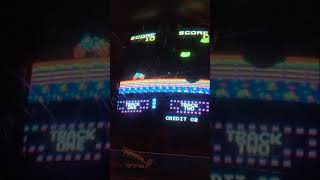 Super Bike conversion kit on Donkey Kong Arcade TKG4 Board Test