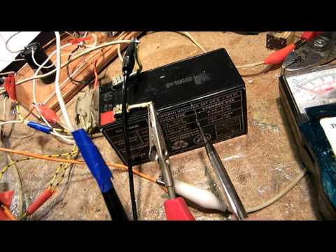 Elementary DC-DC circuit to charge a 12 Volt 50 AH car battery, part 1 (principles)