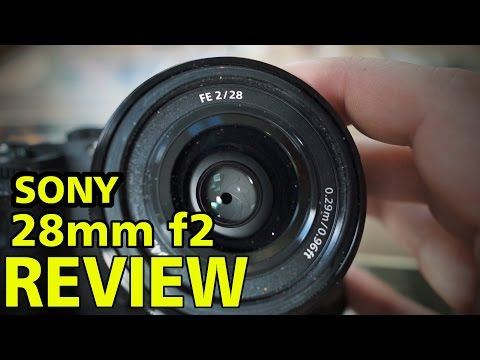 Sony 28mm f2 Prime Lens REVIEW