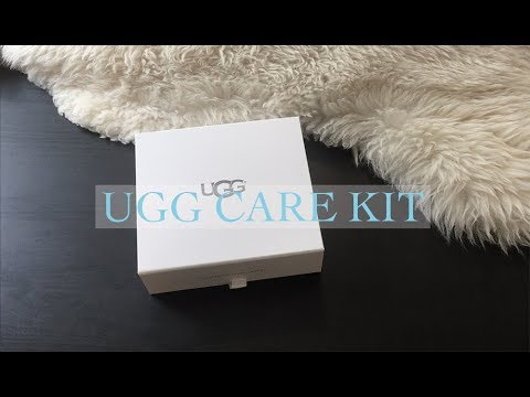 Testing Out The UGG Care Kit