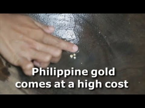 Philippine gold comes at a high price
