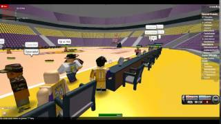 ROBLOX JBL game lost playoffs hope lost.