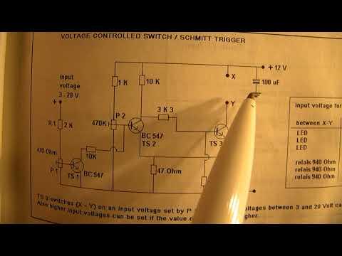 Schmitt trigger circuit: the basics and principles (3 transistor)