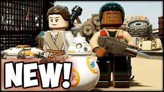 Lego Star Wars the Force Awakens NEW Gameplay Trailer!