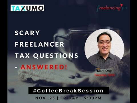 CoffeeBreakSession Ep 3: Tax101 for Freelancers