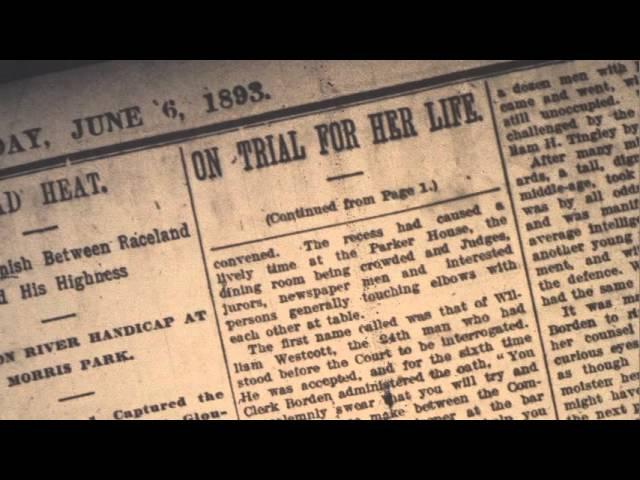 Lizzie Borden Murder Trial
