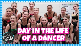 DAY IN THE LIFE OF A COMPETITION DANCER // 24 HOUR VLOG