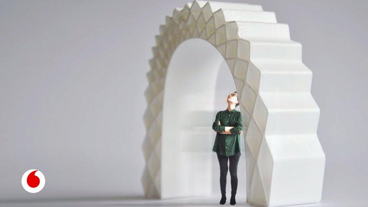 Viviendas de usar y reciclar impresas en 3D