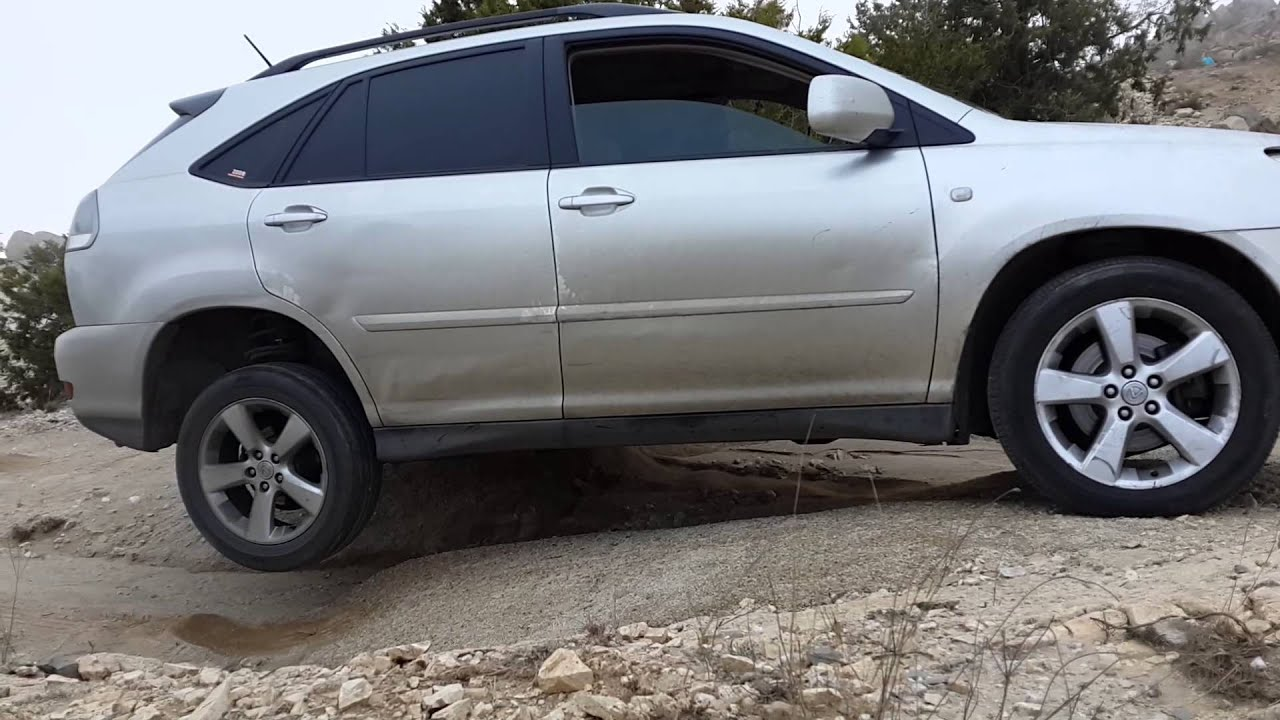 Lexus rx off roading