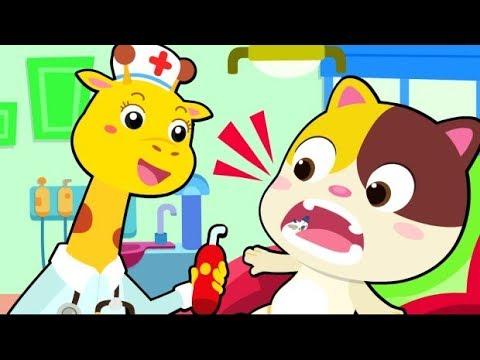 Cuộc chiến với vi khuẩn sâu răng | Mèo con Mimi đi khám răng | Nhạc thiếu nhi vui nhộn | BabyBus
