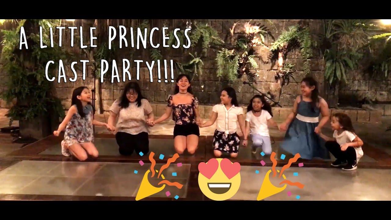 A Little Princess Cast Party!!! - YouTube