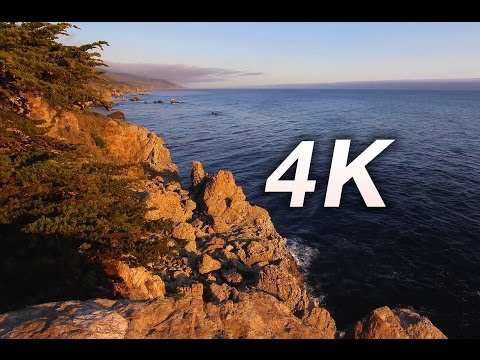 """The Big Sur 4K Experience"" Part IV a Nature Relaxation Video"