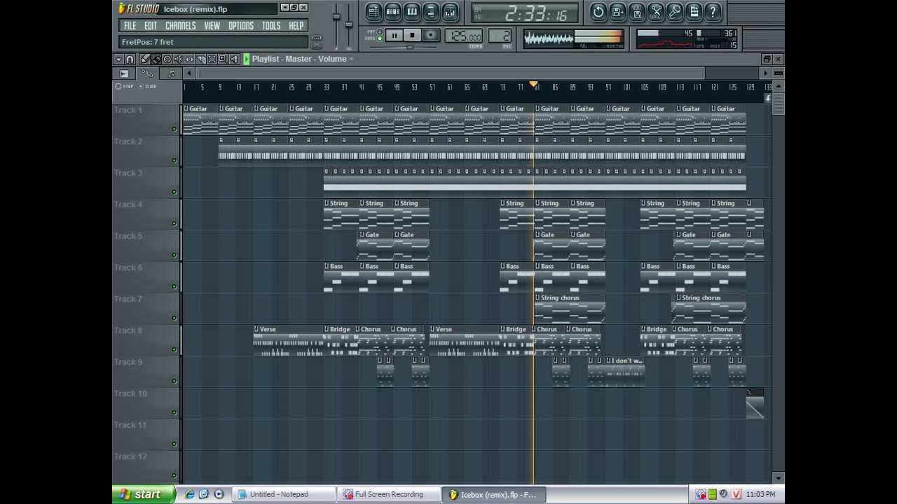 Ice Box Omarion Timbaland Instrumental Fl Studio Remix