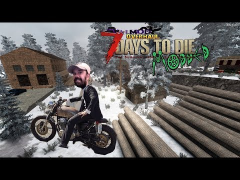 Mini Bike | Valmod | 7 Days Alpha 16 Let's Play Gameplay PC | E19