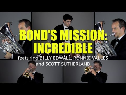 Bond's Mission: Incredible (Trumpet, Euphonium, Tuba, Cimbasso and Drums Cover)