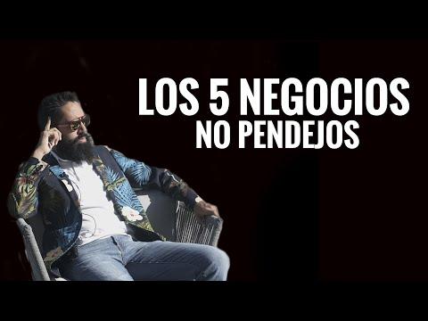 LOS CINCO NEGOCIOS NO PENDEJOS DEL 2020