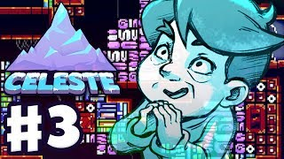 Celeste - Gameplay Walkthrough Part 3 - Chapter 3: Celestial Resort 100%! All Strawberries & B-Side!