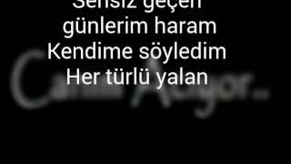 Sensiz - şarkı Sözü