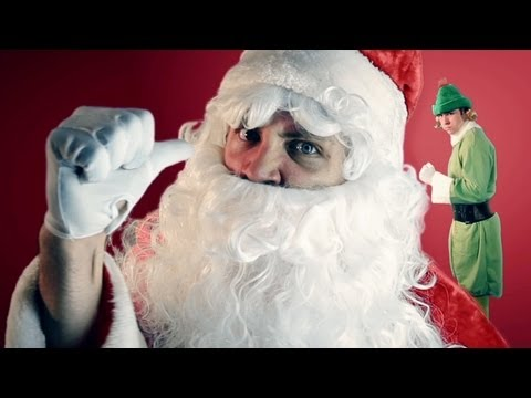 Santa and the Angry Elf RAP!