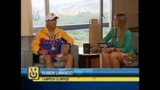 Entrevista Venevisión: Rubén Limardo, medallista olímpico venezolano