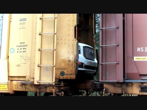CSX Auto Train Goes Into Emergency Stop Causing Extensive Damage