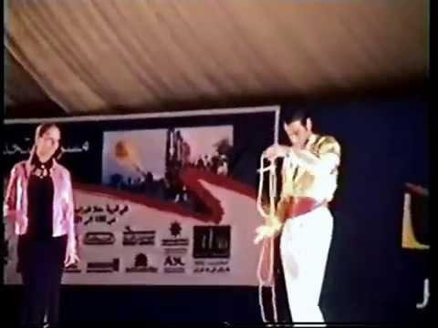 Magic Show in Kuwait city - 2001