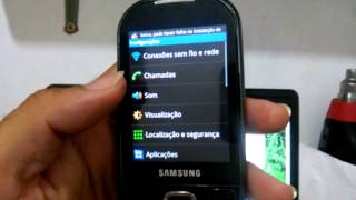 Hard Reset no Samsung Galaxy 5 (GT-I5500) Modo alternativo #UTICell