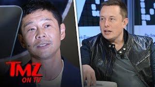 Elon Musk Announces Japanese Art Curator as 1st Guy He'll Send to the Moon | TMZ TV
