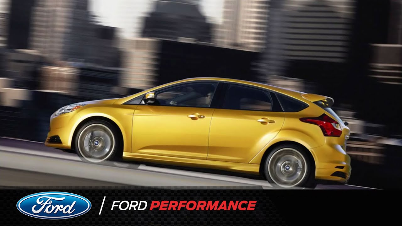 Ford Racing St Calibration Focus Performance