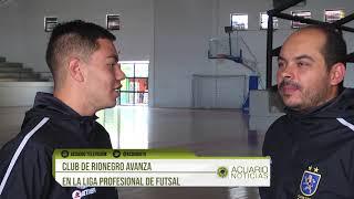 Club de Rionegro avanza en la Liga Profesional de Futsal