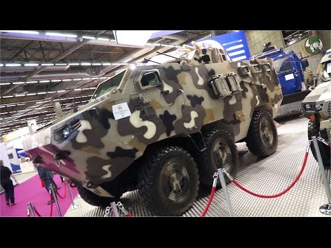 Eurosatory 2016 Day 4 International Defense Security exhibition airland land Paris France