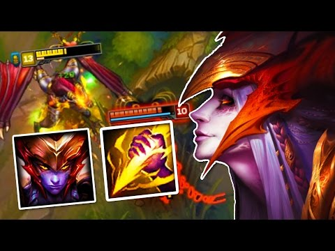 STRONGEST 1V1 JUNGLER - How to Play Shyvana Jungle in Season 7 - League of Legends