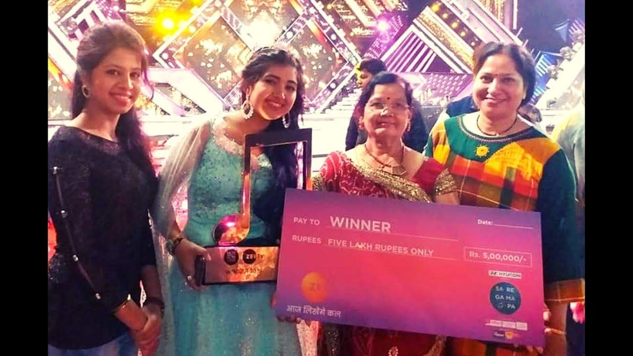Zee bangla saregamapa 2019 winner name