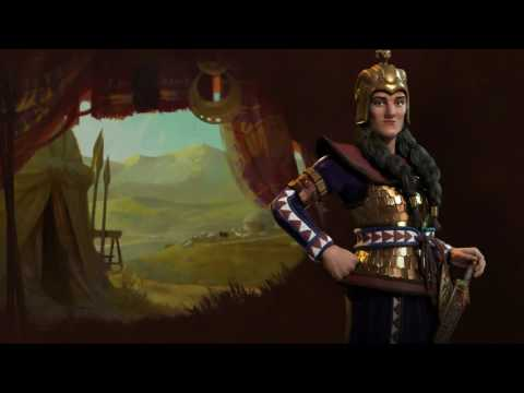 Civ6 Scythian Tomyris theme music Full