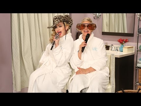 Bathroom Concert Series with Madonna!