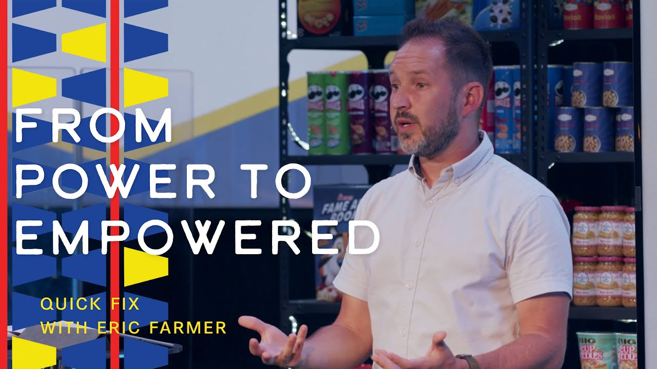 19 September 2021  Quick Fix From Power to Empowered