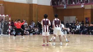 日本一熱い雰囲気に囲まれた中での早慶ハンドボール定期戦。伊舎堂の巧技に加え、三輪の忍者プレーが光り輝いた早大が31ー21で勝利した