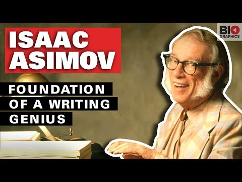 Isaac Asimov: Foundation of a Writing Genius
