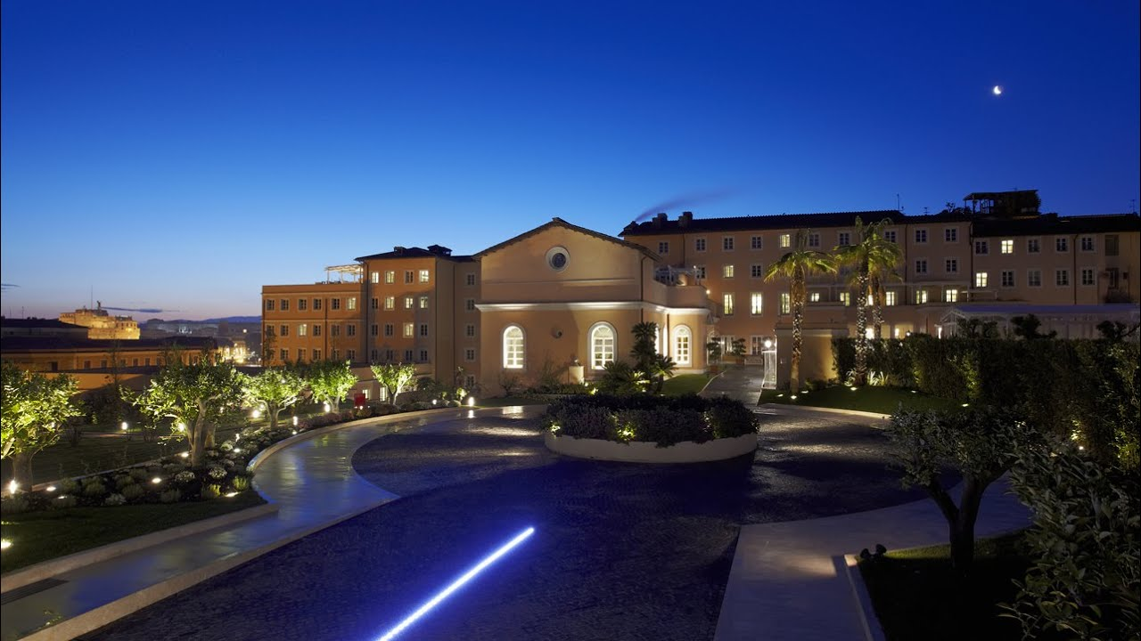 Hotel Gran Meliá Rome, Italy - YouTube